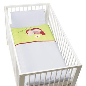 kinder bettw sche jersey marie der marienk fer sterntaler 92808. Black Bedroom Furniture Sets. Home Design Ideas
