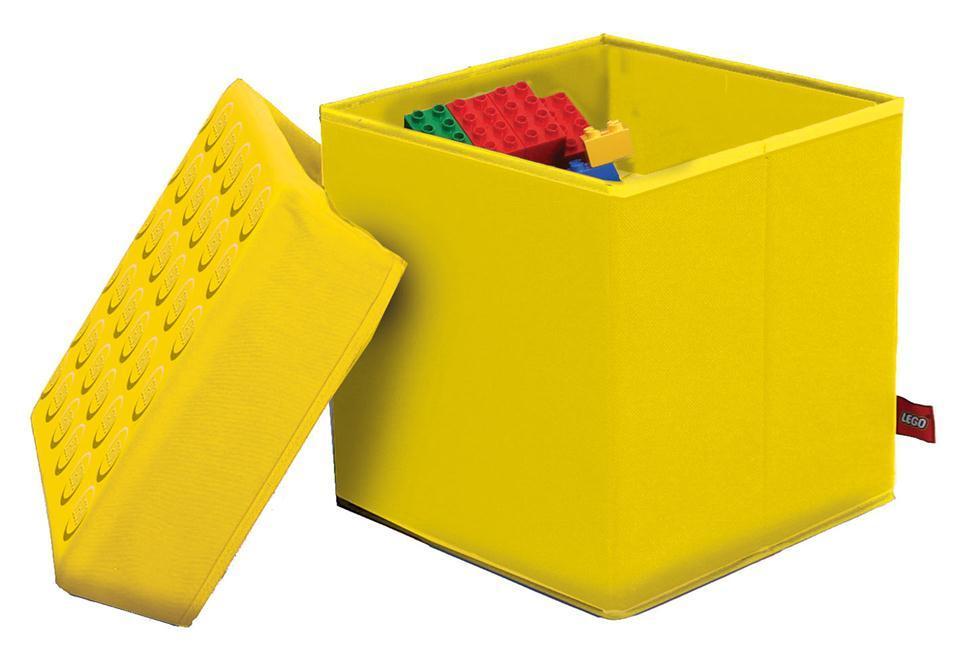 lego aufbewahrungshocker in 2 gr en bitte farbe im. Black Bedroom Furniture Sets. Home Design Ideas