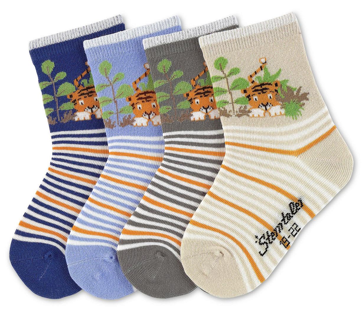 Details zu Baby Kinder Söckchen Motiv Socken Tiger STERNTALER 8321408