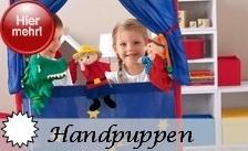 Sterntaler Handpuppen - über 50 verschiedene Modelle, Handpuppensets, Kaspertheater und mehr