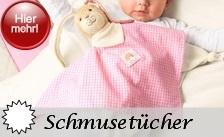 Sterntaler Schmusetücher / Kuscheltücher in drei verschiedenen Größen und verschiedenen Arten
