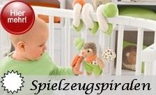 Sterntaler Spielzeug Spirale zum Befestigen am Laufgitter oder Babybett
