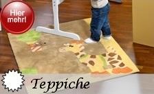 Sterntaler Teppiche 120x120cm fürs Kinderzimmer im tollen Serienmotiv