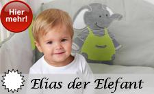 Elias der Elefant - brandneue Motiv Serie 2014 aus dem Hause Sterntaler