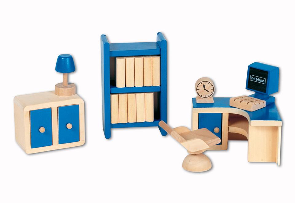 beeboo Büro Puppenhaus Zimmer 0012785