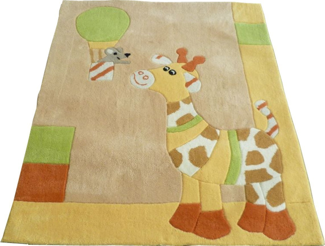 kinderzimmer teppich gloria die giraffe sterntaler 96170 ebay. Black Bedroom Furniture Sets. Home Design Ideas