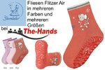 Gr.23/24 - rose - Fliesen Flitzer Air WINTER Motiv: Maus STERNTALER 81114
