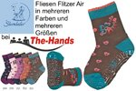 Gr.23/24 - rose - Fliesen Flitzer Air Krabbelsocken WINTER Motiv: Herzen STERNTALER 81116