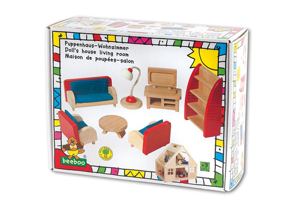 wohnzimmer puppenhaus zimmer 0000156 - Beeboo Küche