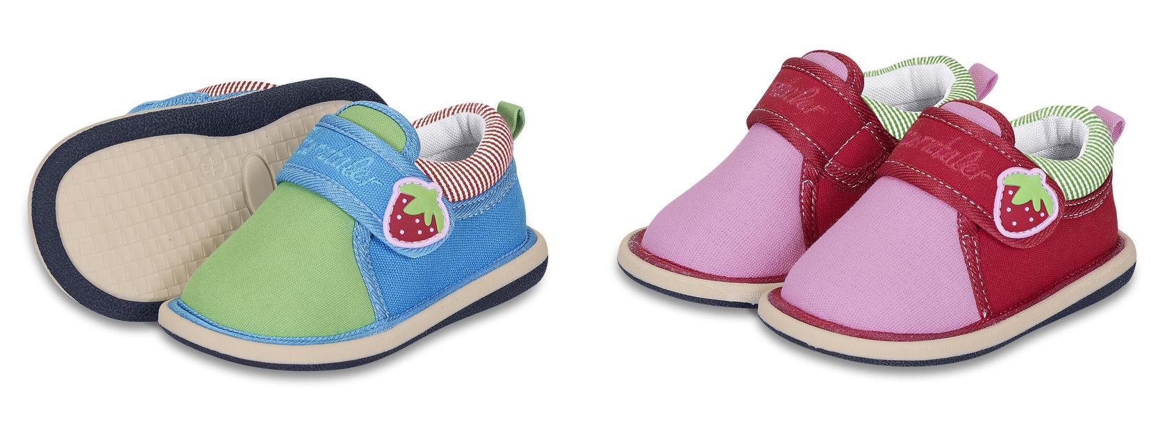 am besten wählen vollständige Palette von Spezifikationen High Fashion Jungen / Mädchen Hausschuhe Erdbeere SOMMER STERNTALER 2401411