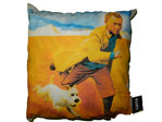 DEKO Kissen 35x35cm mit Motiven von the adventures of Tintin - HK1455284
