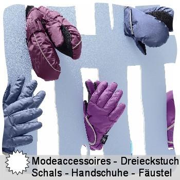 Sterntaler Modeaccessoires - Dreieckstücher - Schals - Allrounder - Zaubertücher - Handschuhe