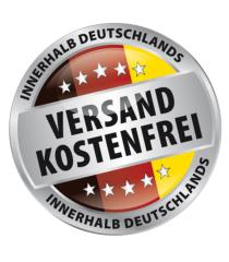 Bereits ab 15 Euro Mindestbestellwert liefern wir innerhalb Deutschlands versandkostenfrei. Darunter ist  gegen einen Mindermengenaufschlag von 2,90€ eine Bestellung möglich.