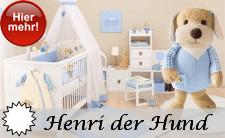 NEU 2013 Sterntaler Pastell Serie: Henri der Hund