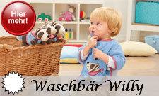 Sterntaler Serie: Willy der Waschbär