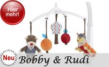 NEU 2017 Sterntaler Serie Bobby der Bär und Raupe Rudi