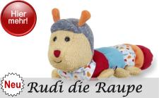 Sterntaler Neuheit 2017 - Motivserie Rudi die Raupe