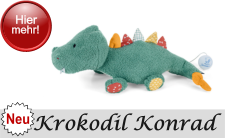 Neuheit 2019 Sterntaler Krokodil Konrad