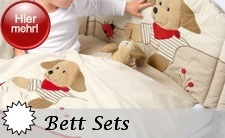 Sterntaler Bett Sets inkl. Himmelstoff, Nestchen und Kinderbettwäsche im jeweiligen Serienmotiv