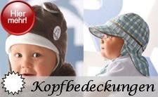 Sterntaler Kopfbedeckungen nach Größen und Jahreszeiten sortiert - Schals + Handschuhe