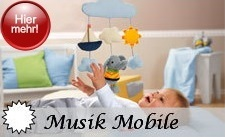 Sterntaler Musik Mobile mit Melodiewahl ohne Aufpreis