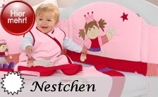 Sterntaler Nestchen Gitterschutz für Kinderbetten