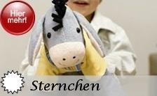 Sterntaler Sternchen - die extra großen Spieltiere und Spielpuppen OHNE Rassel für unbeschwertes Knuddeln und Spielen