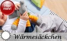 Sterntaler Wärmekissen / Wärmesäckchen für Backofen oder Mikrowelle