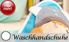 Waschhandschuhe und Waschsets