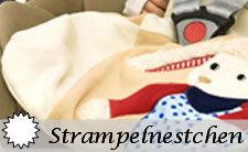 Sterntaler Strampelnestchen für den Autositz und die Babyschale