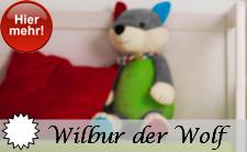 Sterntaler Neuheit 2014 Wilbur der Wolf Motiv Serie
