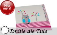 Sterntaler Neuheit 2016 - Motivserie Emilie die Eule