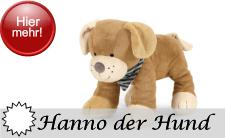 Sterntaler Neuheit 2016 - Motivserie Hanno der Hund 2016