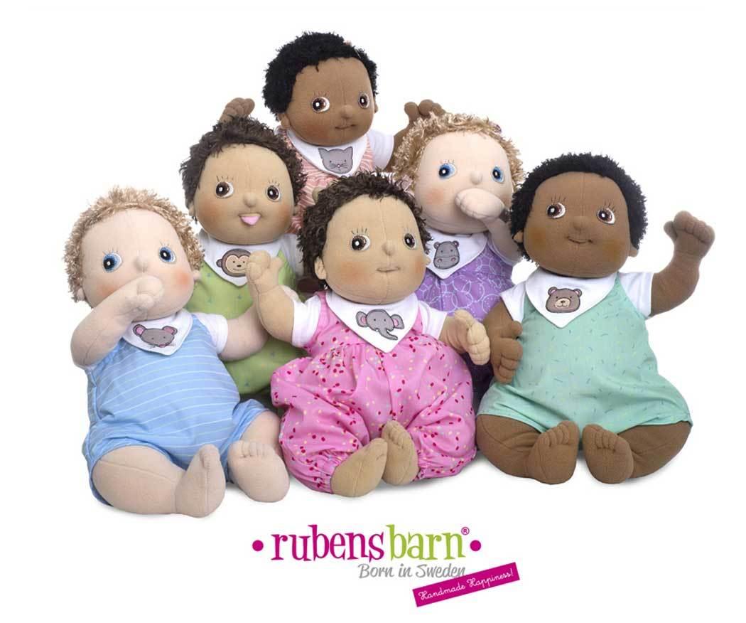 Rubens Barn Baby Puppen und Bekleidung
